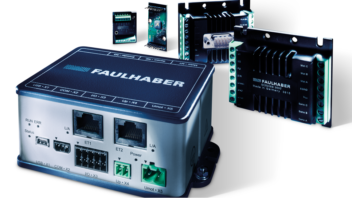 HANNOVER MESSE Product 2021: Drive Electronics (FAULHABER )