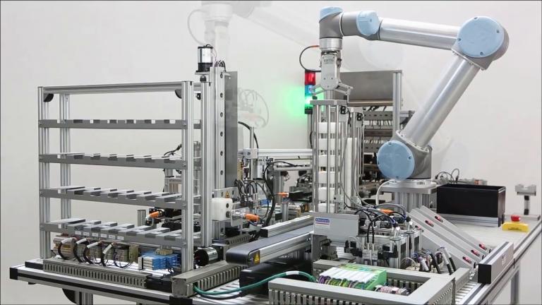 Modulares Mechatronik System UbiFactory - Produkt - HANNOVER MESSE 2018